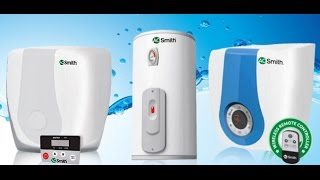 AO Smith Water Heater unboxing
