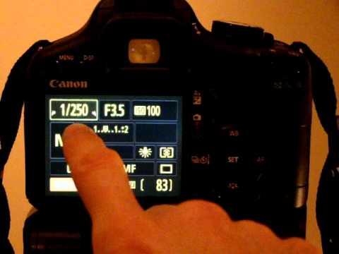 canon eos 500d t1i kissx3 tutorial video 19 exposure elements rh youtube com Canon EOS 70D Canon EOS 1000D