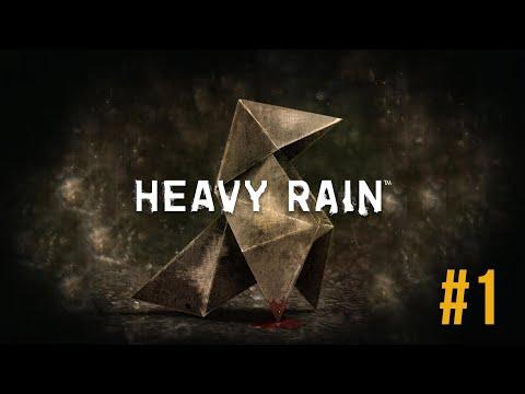 ELRAENN İLE HEAVY RAIN - FİLM TADINDA OYUN! #1