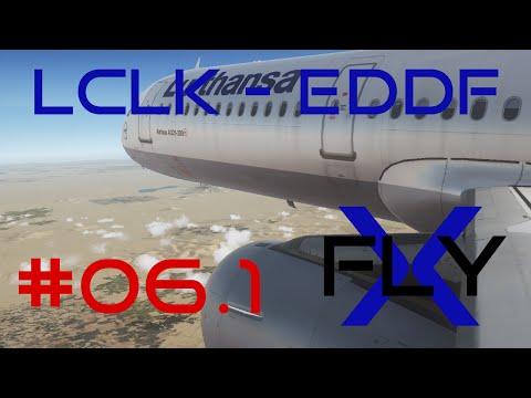 FlyX #06.1 Larnaca - Frankfurt (DLH A321) [FullHD]
