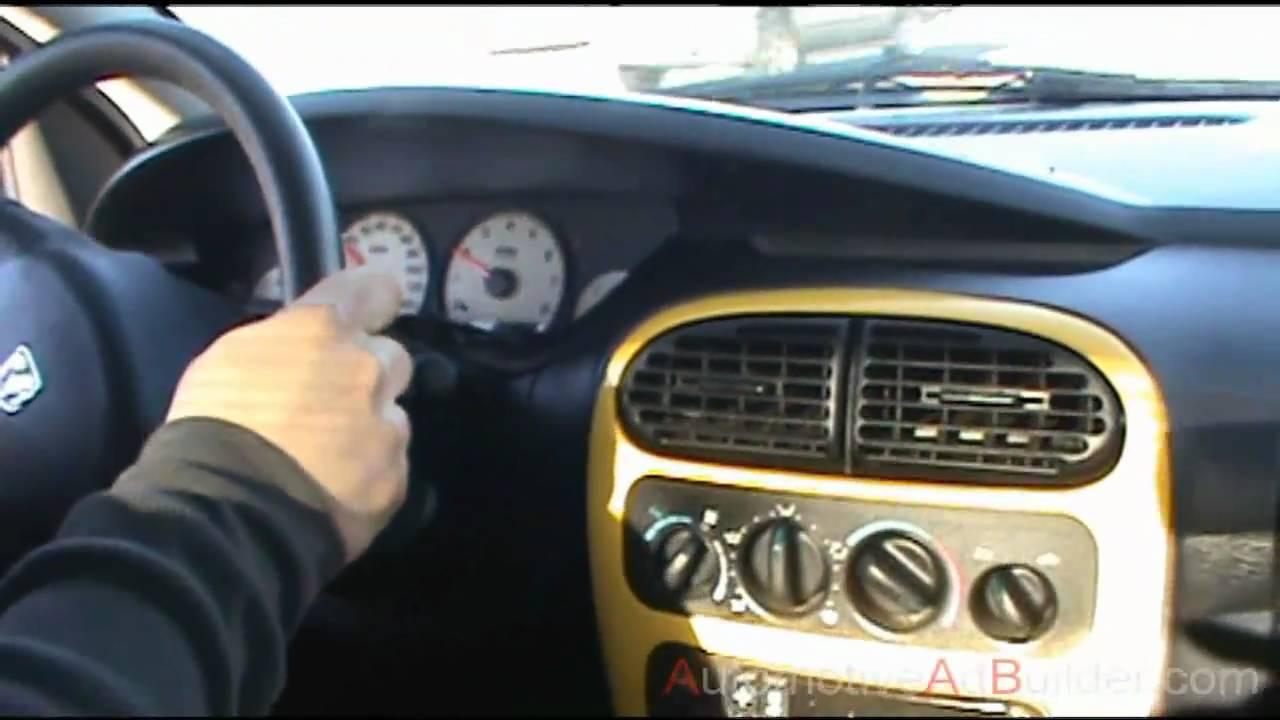 2004 dodge neon 2.0 sxt sport sedan - youtube