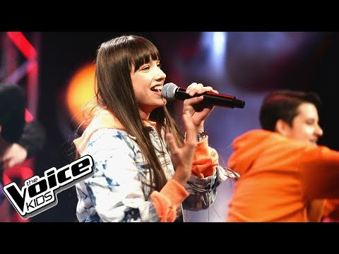 "Wiktoria Gabor - ""Time"" - Finał - The Voice Kids Poland 2"