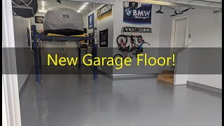 homepage tile video photo for Got the Garage Floor Epoxied! (Instagram Questions answered)