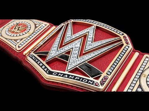 how to make wwe universal championship (ak creative) tutorial