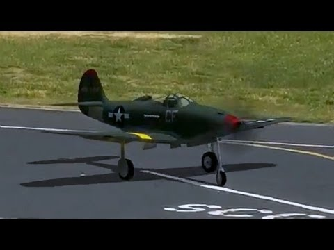 P-39 Airacobra RC Airplane (Realflight RC Simulator)