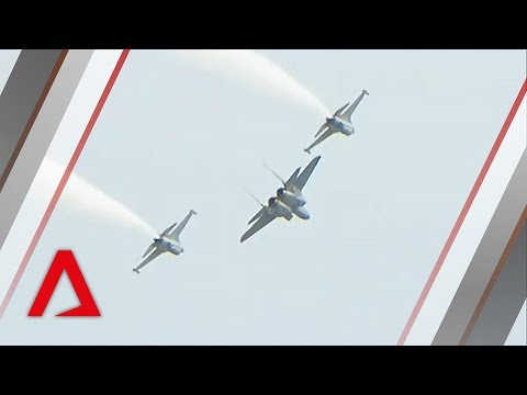 RSAF fighter jets showcase aerobatic stunts in airshow preview