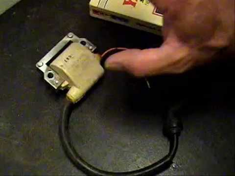 Yamaha TT600 - ignition coil test