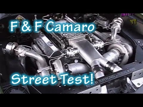 "1500 HP ""F Bomb"" Camaro Lost In Car Video Street Test from Nelson Racing Engines."