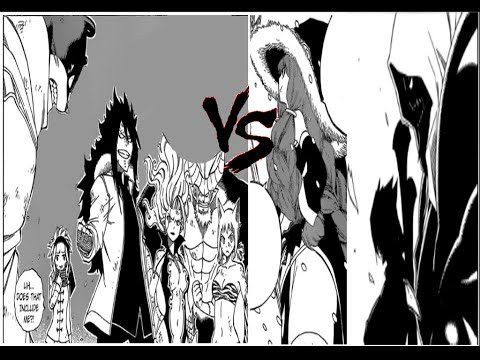 Fairy Tail Manga Ch. 484 Review 6 Monsters vs 3 Spriggans