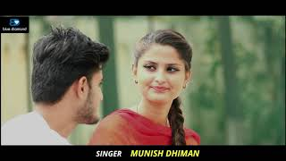 Yaar Bamb   Munish Dhiman1080p new punjabi song 2020