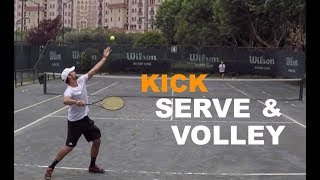 How To Play Serve And Volley In Tennis  (TENFITMEN - Episode 79)