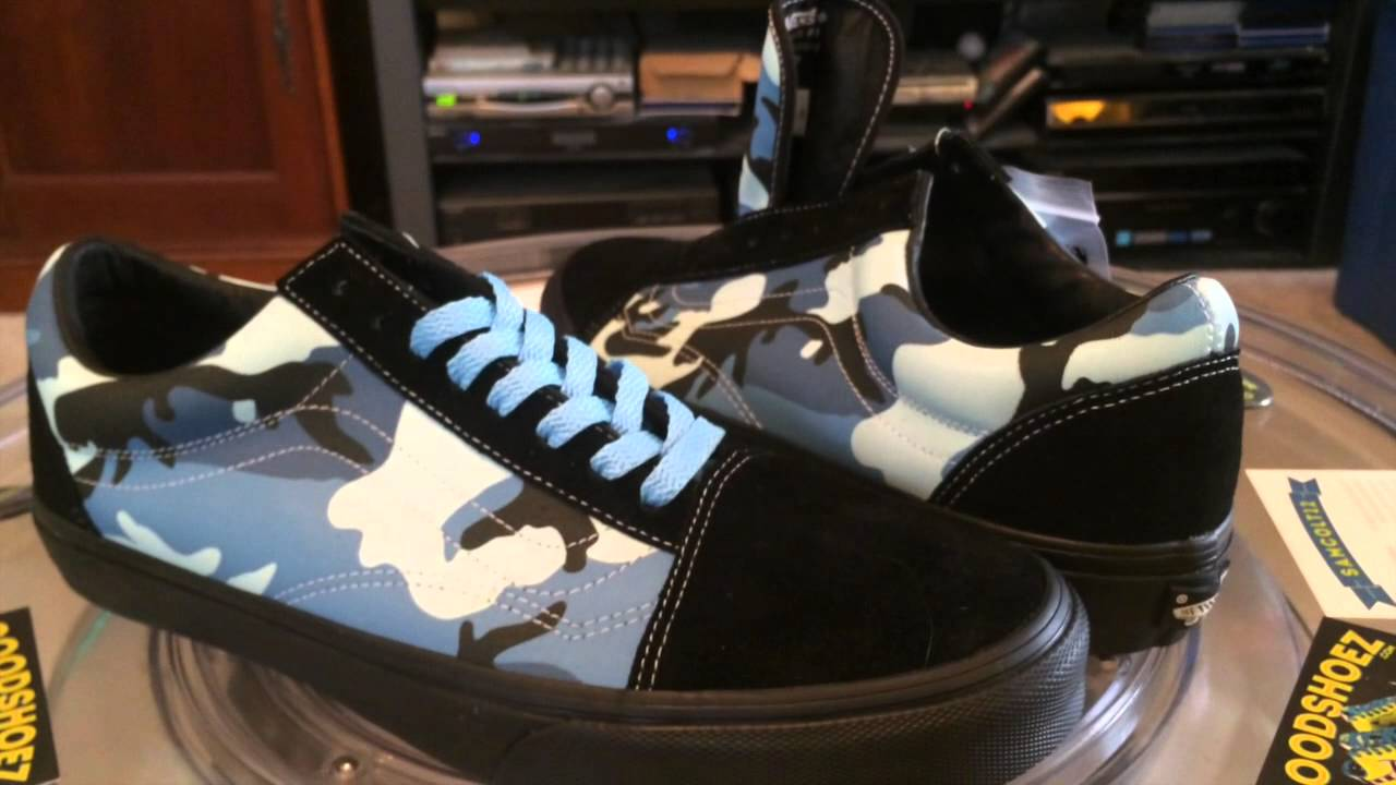 e1aa7a347bfd VANS x Supreme Camouflage - Old Skool - (Supreme) Sky Blue with ...