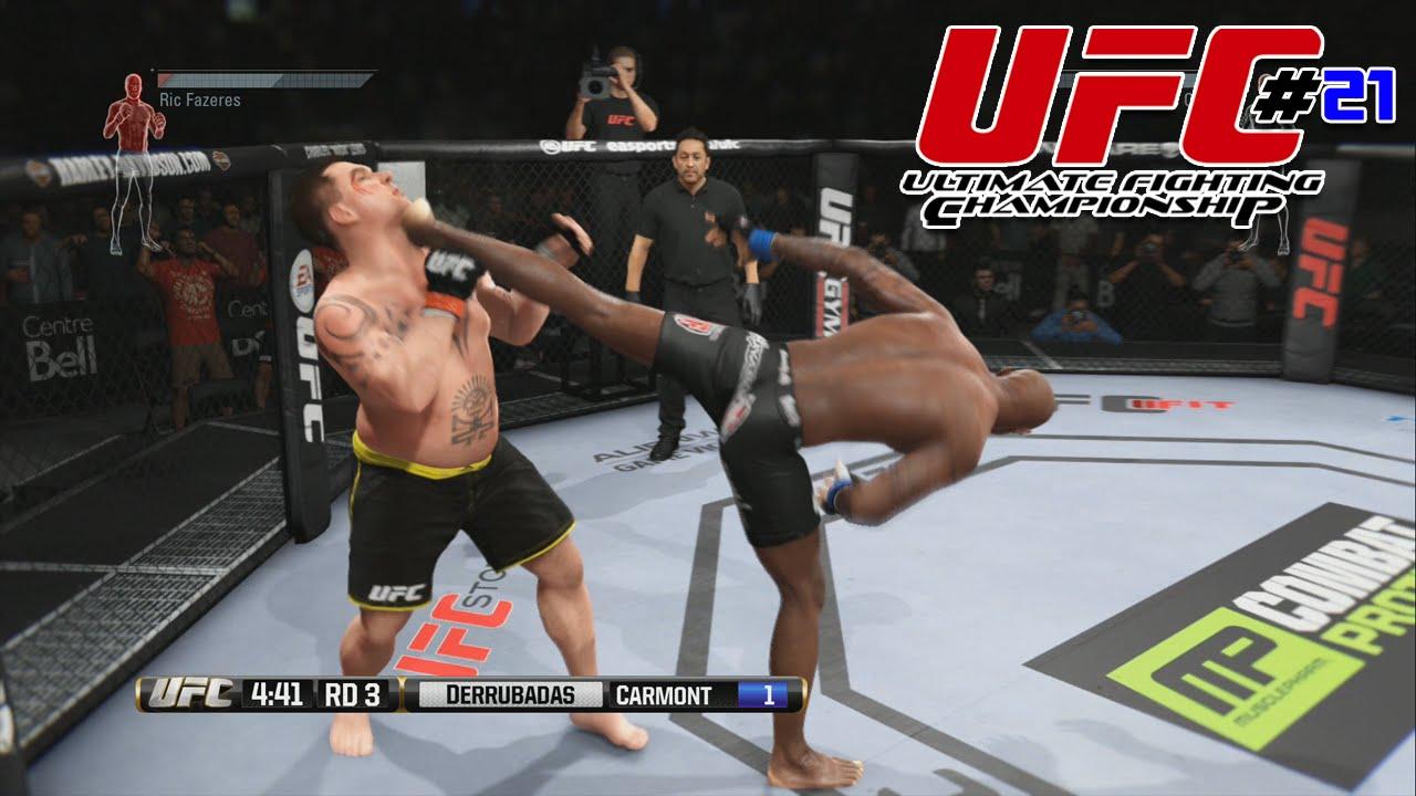 EA SPORTS UFC #21 | QUE TAREIA QUE LEVEI (PS4/1080p)