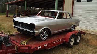 1964 Chevrolet Chevy II Nova 383 Stroker 4L60E Pro Touring Build Project