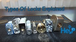 [64] Different Types Of Locks You May Encounter While Learning To Pick Locks