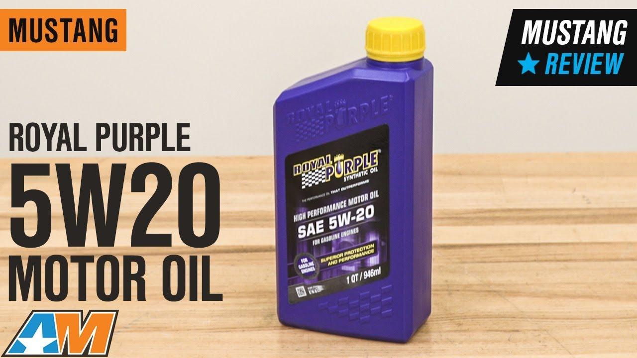 Royal Purple Oil Review >> Royal Purple 5w20 Motor Oil