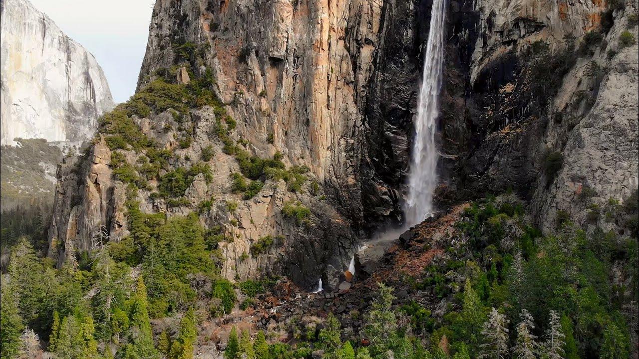 Yosemite National Park Drone View 4k California Video DJI