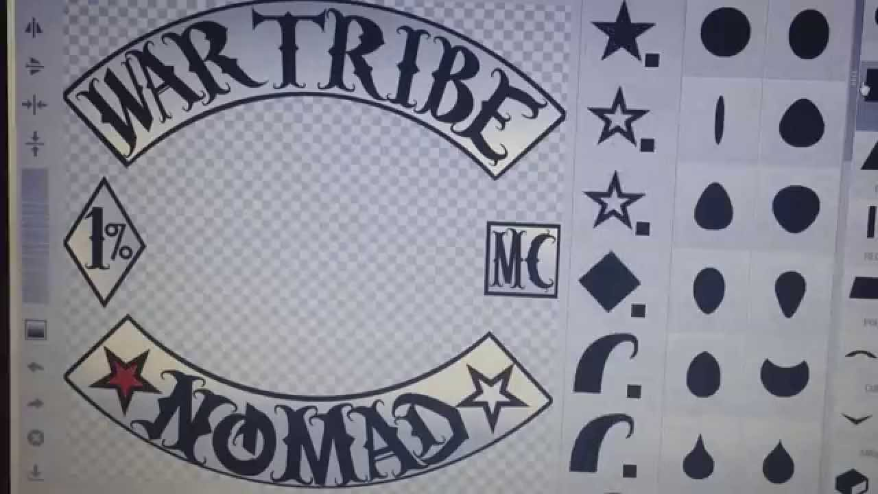 war tribe nomads mc made in emblem creator by demigunz pres of war tribe mc youtube. Black Bedroom Furniture Sets. Home Design Ideas