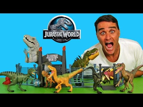 My Jurassic World Dinosaurs ! || Toy Reviews || Konas2002