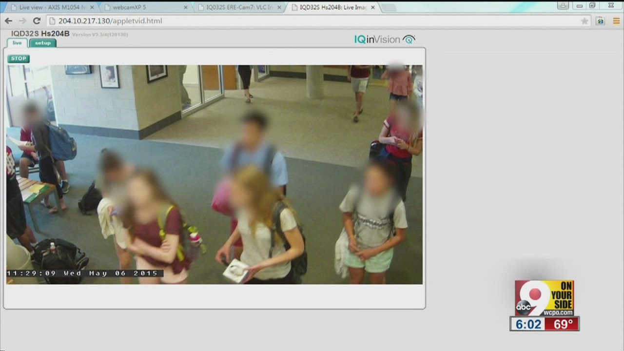 Indian Hill High School Security Camera Problem Quickly Corrected