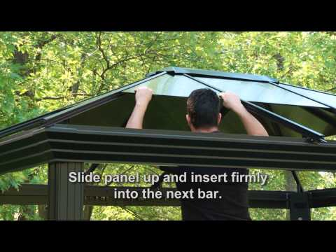 Sun Shelter roof panel insert