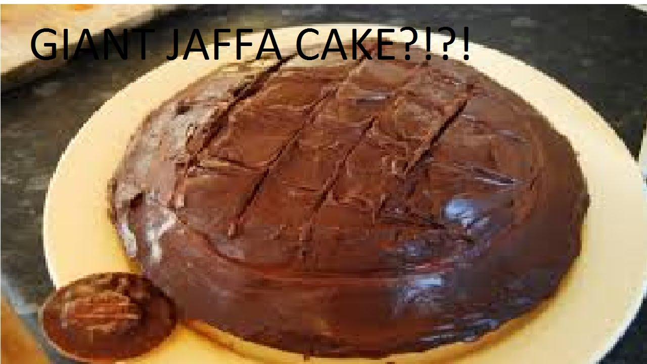 How To Make Giant Jaffa Cake
