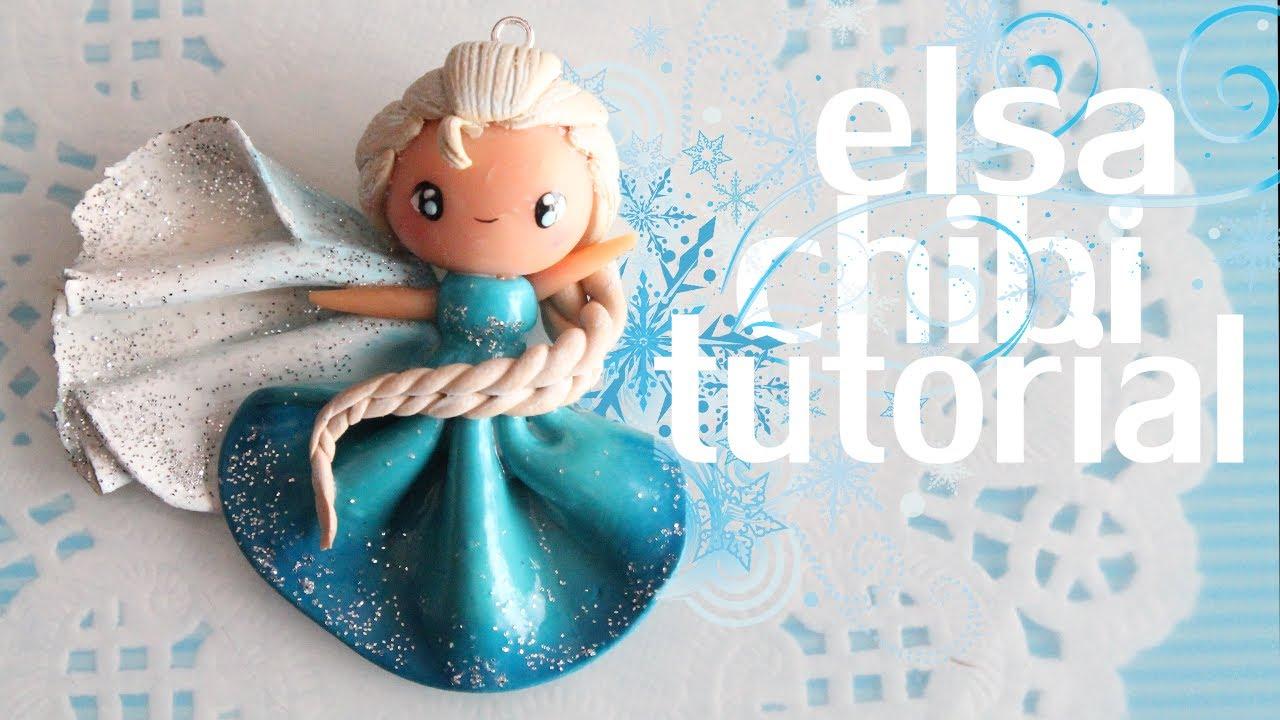 Elsa Chibi Tutorial Frozen Youtube