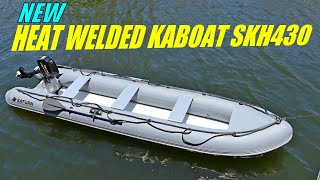 New Saturn 14' KaBoat SKH430 with Heat Welded Seams. New Generation of KaBoats for better durability