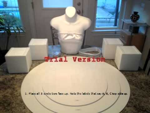 The Couture Cupcake Stand - YouTube