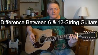 Download lagu What Is The Difference Betwteen A 6-String & A 12-String #Guitar?