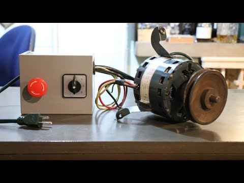 Wiring a 3 Speed Blower Motor - YouTube