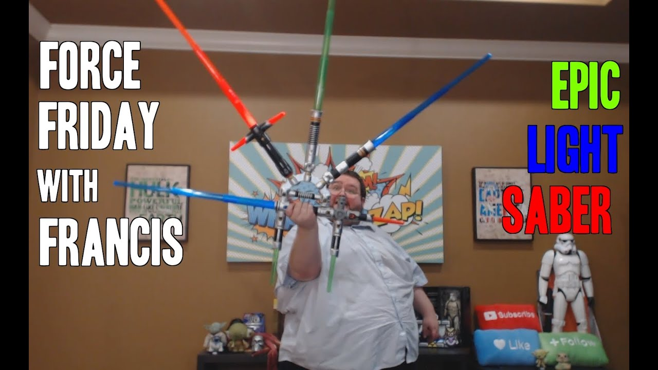 Francis Builds His Own Light Saber Star Wars Blade