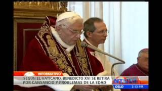 Detrás de la renuncia del Papa habría una trama de poder, sexo y dinero, según diario italiano