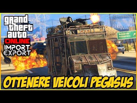 COME SBLOCCARE TUTTI I VEICOLI PEGASUS SEGRETI + TEST / GTA 5 ONLINE ITA NEW DLC IMPORT/EXPORT