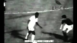 Pelé vs AS Roma (1960) Away (short highlights)