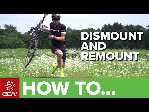 How To Dismount And Remount With Sven Nys | Cyclocross Skills