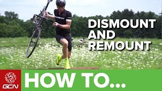 How To Dismount And Remount With Sven Nys   Cyclocross Skills