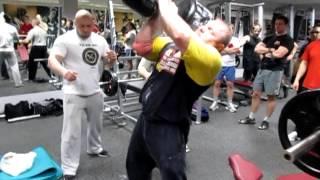 Гантель весом 110 кг на 60мм грифе