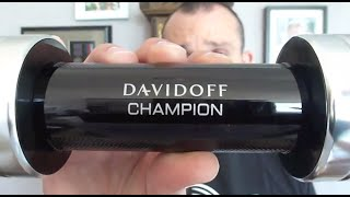Davidoff Champion fragrance/cologne review