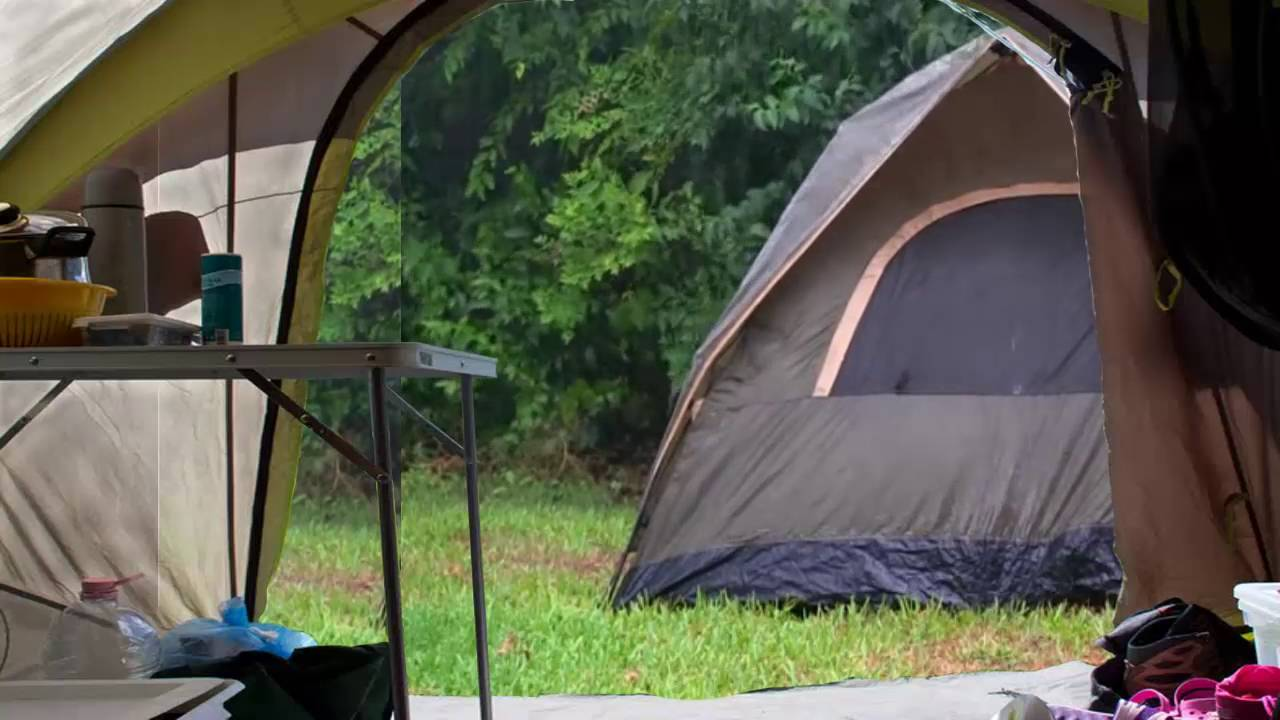 nature sounds rain on a tent high quality relaxing sleeping