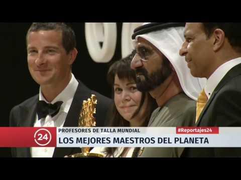 Reportaje TVN en el Global Teacher Prize 2017