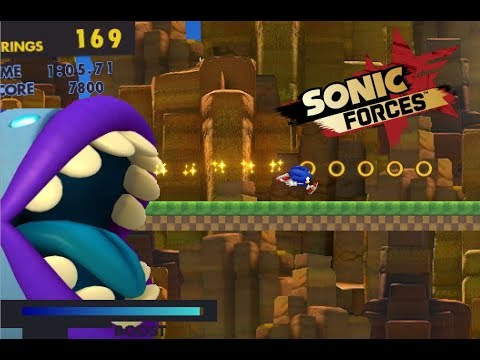 LOST VALLEY DOWNLOAD ! SONIC FORCES FANGAME :)