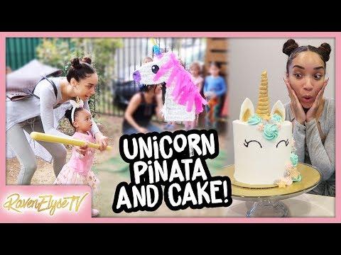 MOM VLOG | Ziyas 2nd Birthday + DIY Unicorn Cake!