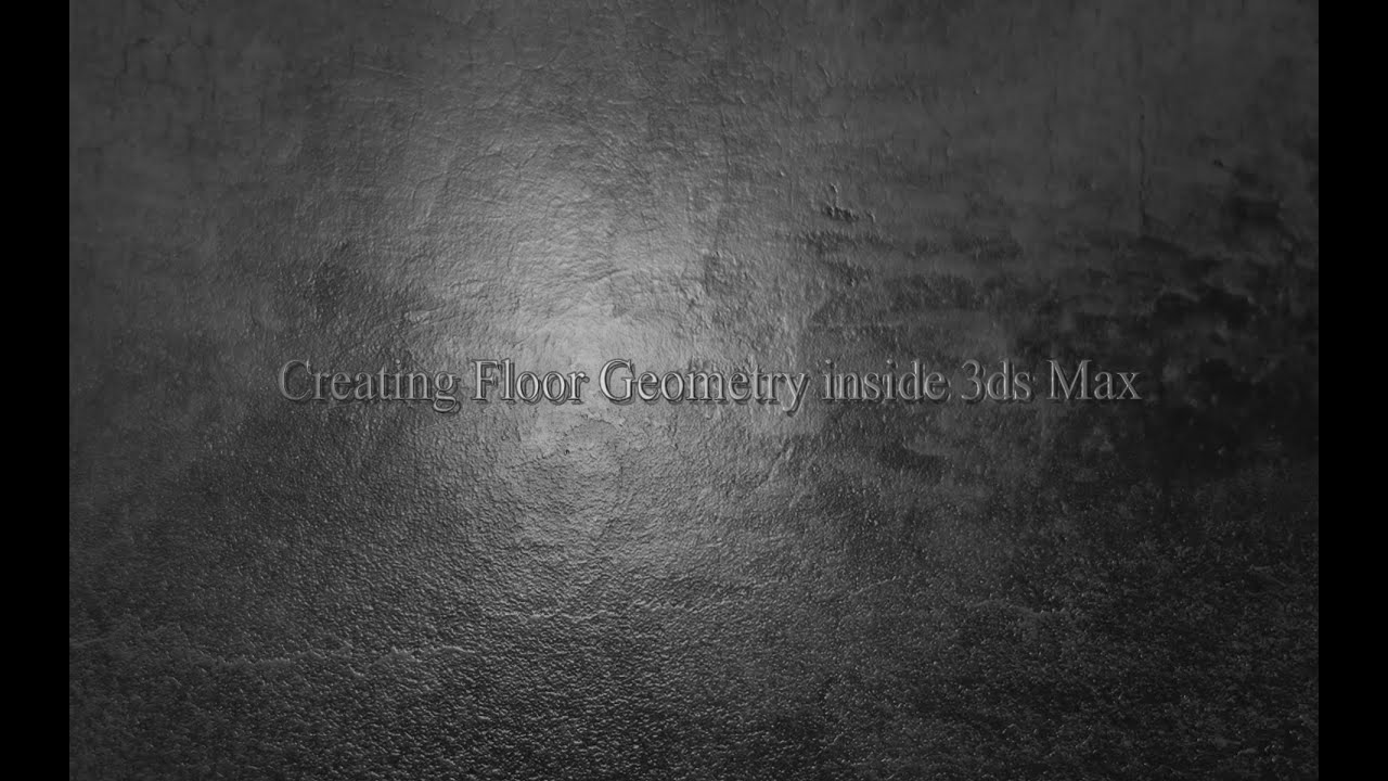 Creating Floor Geometry in 3ds Max with Floor Generator – Your Guide