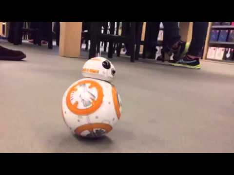Star Wars BB-8 Toy App Controlled Droid At Apple Store