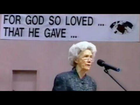 """Loving The Way Jesus Loved"" Vesta Mangun BOTT 1989"
