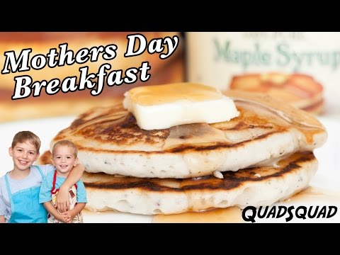 Easy Mothers Day Pancake Recipe! Breakfast In Bed And Brunch Ideas!