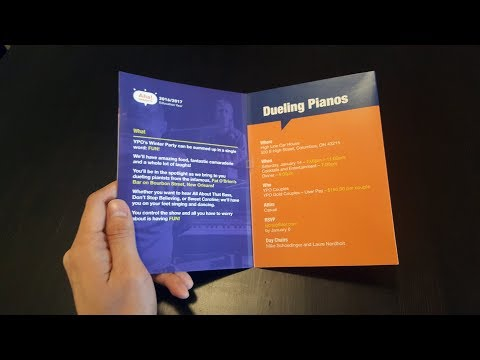 [soundCARD] Young Presidents' Organization Personalized Musical Greeting Card