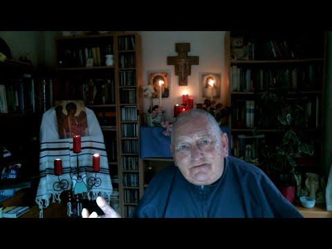 Monday: Feb: 17th  Br Sean Dedicates Evening Prayer of Vespers 4 Sr Sue and Br David Parry (UK)