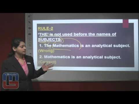 Tips & Tricks - English - Omission of the definite article - 2.0 - Hindi Version